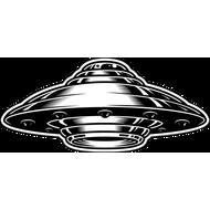 Наклейка НЛО, фото 1