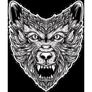 Наклейка Волк-113, фото 1