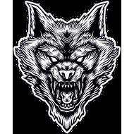 Наклейка Волк-114, фото 1