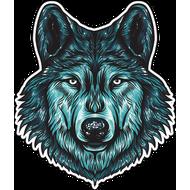 Наклейка Волк-116, фото 1
