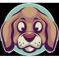 Наклейка Собака-091, фото 1