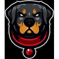 Наклейка Собака-094, фото 1