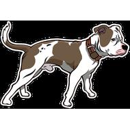 Наклейка Собака-101, фото 1