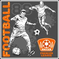 Наклейка Футбол-180, фото 1