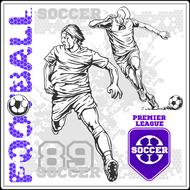 Наклейка Футбол-181, фото 1