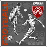Наклейка Футбол-182, фото 1