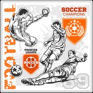 Наклейка Футбол-186, фото 1