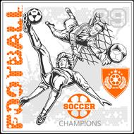 Наклейка Футбол-187, фото 1