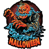 Наклейка Halloween-101, фото 1