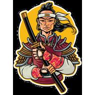 Наклейка Самурай-179, фото 1