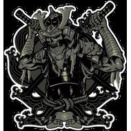 Наклейка Самурай-182, фото 1
