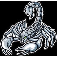Наклейка Скорпион-017, фото 1