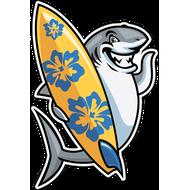 Наклейка Акула-017, фото 1