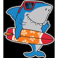 Наклейка Акула-023, фото 1