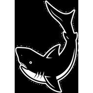 Наклейка Акула-030, фото 1