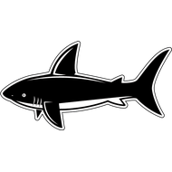 Наклейка Акула-031, фото 1