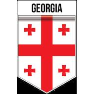 Наклейка Флаг Грузии, фото 1