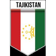 Наклейка Флаг Таджикистана, фото 1