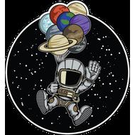 Наклейка Космонавт-155, фото 1