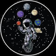 Наклейка Космонавт-156, фото 1