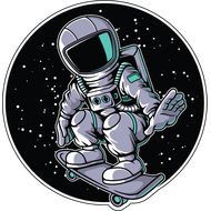 Наклейка Космонавт-159, фото 1