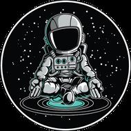 Наклейка Космонавт-161, фото 1