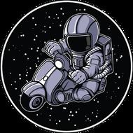 Наклейка Космонавт-162, фото 1