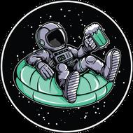 Наклейка Космонавт-163, фото 1