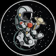 Наклейка Космонавт-165, фото 1