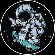 Наклейка Космонавт-168, фото 1