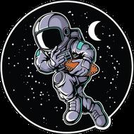 Наклейка Космонавт-169, фото 1