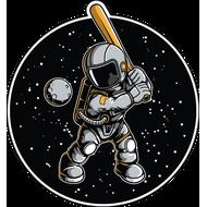 Наклейка Космонавт-173, фото 1