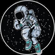 Наклейка Космонавт-174, фото 1