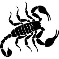 Наклейка Скорпион-020, фото 1