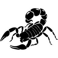 Наклейка Скорпион-021, фото 1
