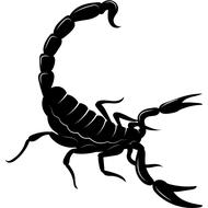 Наклейка Скорпион-022, фото 1