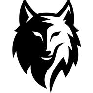 Наклейка Волк-118, фото 1
