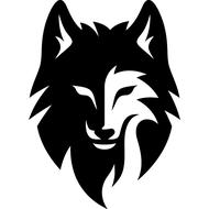 Наклейка Волк-119, фото 1