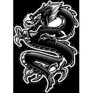 Наклейка Дракон-132, фото 1