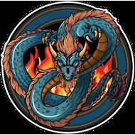 Наклейка Дракон-134, фото 1