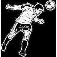 Наклейка Футболист-191, фото 1