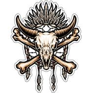 Череп буйвола-012, фото 1