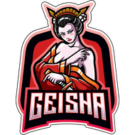 Наклейка Гейша-204, фото 1