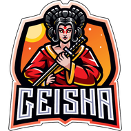 Наклейка Гейша-205, фото 1