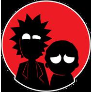 Наклейка Рик и Морти, фото 1