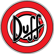 Наклейка Пиво Duff, фото 1