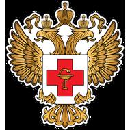 Наклейка Герб Министерства Здравоохранения, фото 1