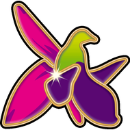 Наклейка Цветок Хары-бюльбюль - символом Шуши и Карабаха, фото 1