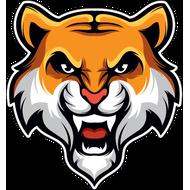 Наклейка Тигр-074, фото 1