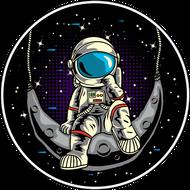 Наклейка Космонавт-176, фото 1